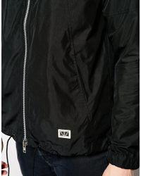 Brixtol Hoolihan Jacket In Micro Twill - Black
