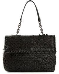 Bottega Veneta Tobu Intrecciato Shoulder Bag - Lyst