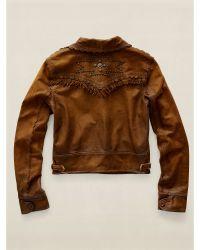 RRL | Montana Leather Jacket | Lyst