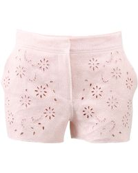 Ermanno Scervino   Embroidered Shorts   Lyst