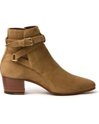 Saint Laurent Blake Jodhpur Boot - Lyst