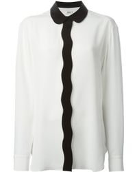 Issa  Wave Front Shirt - Lyst