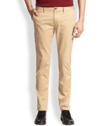 Burberry Brit Skinny-Fit Chino Trousers - Lyst