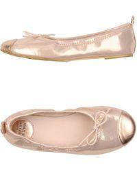 Stuart Weitzman Ballet Flats - Lyst