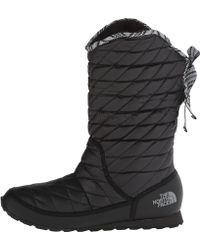 The North Face Thermoball Rolldown Bootie Ii - Lyst