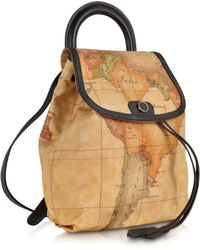 Alviero Martini 1A Classe - Geo Print Handle Soft Backpack - Lyst