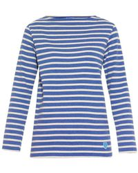 Orcival - Breton-Striped Cotton Jumper - Lyst