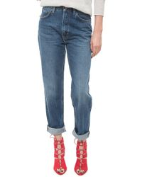 MiH Jeans The Linda blue - Lyst