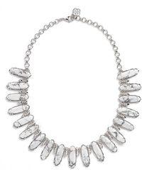 Kendra Scott 'mystic Bazaar - Gabriella' Collar Necklace - Metallic