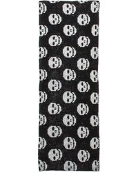 Autumn Cashmere - Skull Infinity Scarf in Black White - Lyst