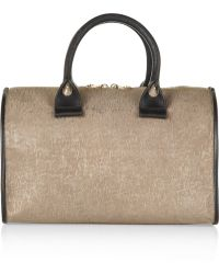 See By Chloé April Small Texturedleather Duffle Bag - Lyst