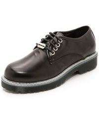 McQ by Alexander McQueen Martin Lace Up Derby  Black - Lyst