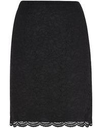 Diane von Furstenberg Eliza Lace Mini Skirt - Lyst