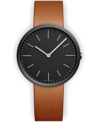 Uniform Wares | M37 Pvd Black Watch / Tan Leather Strap | Lyst