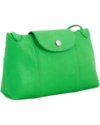 Longchamp Le Pliage Cuir Bag - Lyst