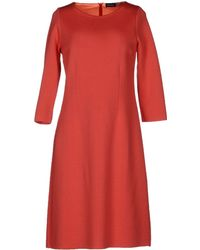 Charlott Knee Length Dress - Lyst