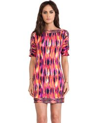 Trina Turk Multicolor Corsica Dress - Lyst