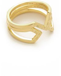 Elizabeth And James Edo  Kuril Ring  - Lyst