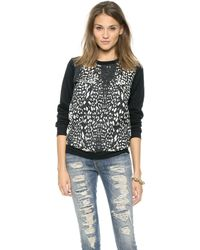 Stylestalker Supernatural Love Sweatshirt  Leopard - Lyst