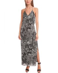 IRO Dahlia Ikat Print Dress black - Lyst