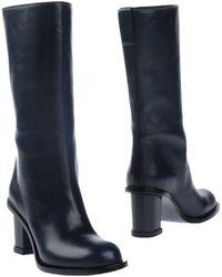 Jil Sander Boots - Blue