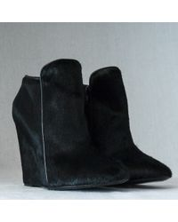 Christophe Lemaire wedges boots wedge boots - Lyst
