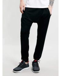 LAC - Bk Drop Crotch Sweatpants - Lyst