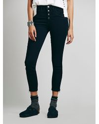 Free People Brooklyn High Rise Skinny - Lyst