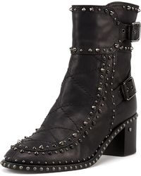 Laurence Dacade Badely Doublebuckle Boot Blackruthenium - Lyst