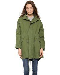 Capulet Oversized Survival Jacket - Olive - Green