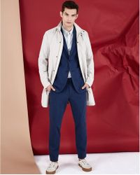 Theory Wescombe Jake Trousers - Slim Fit - Blue