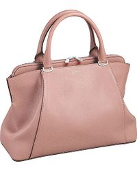 Cartier C De Leather Small Tote - For Women pink - Lyst