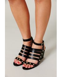 Free People Lily Mini Wedge - Lyst