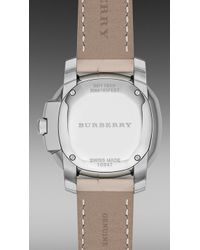 Burberry Brit | The Britain Bby1950 26mm Diamond Indexes | Lyst