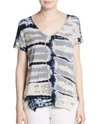 Young Fabulous & Broke Zane Tie-Dyed Top - Lyst