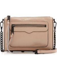 Rebecca Minkoff Avery Saffiano Crossbody Bag - Lyst