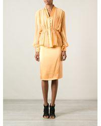 Jean Louis Scherrer Vintage 70S Skirt Suit - Lyst