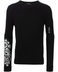 Exemplaire - Sleeve Intarsia Knit Sweater - Lyst