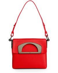 Christian Louboutin Passage Mini Box Shoulder Bag red - Lyst
