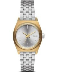 Nixon 'The Time Teller' Watch silver - Lyst