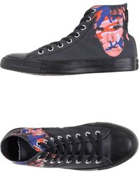 Converse High-Tops & Trainers black - Lyst