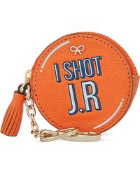 Anya Hindmarch I Shot J.R Leather Coin Purse - For Women - Lyst