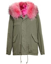 Mr & Mrs Furs Reversible Giovanna Coyote Fur Parka - Lyst