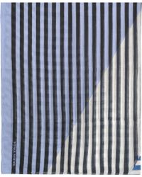 Sonia Rykiel Sarong 120x180 Modal And Linen - Blue
