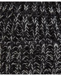 Howlin' By Morrison | Grey Colour Blind Twisted Yarn Lambswool Beanie | Lyst