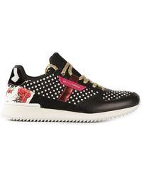 Dolce & Gabbana Polka Dot Sneakers - Lyst