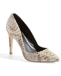 Charles by Charles David 'Pact' Pump beige - Lyst