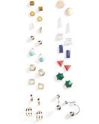 Topshop | Stud Earrings | Lyst