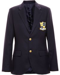Enfants Riches Deprimes - Wool School Uniform Blazer - Lyst