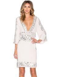 Tessora - Short Caftan Dress - Lyst